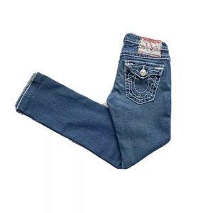True Religion Billy Super T Straight Stretch Jeans